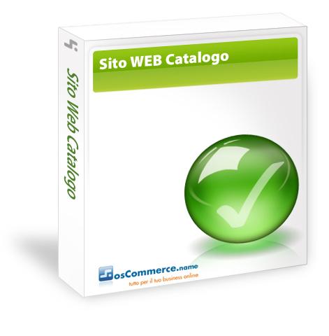 Sito Web Catalogo Grafica Personalizzata Canone Mensile